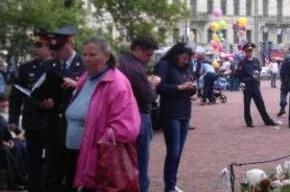 Народные гуляния оппозиции переехали на площадь Искусств