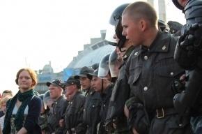 Более ста человек задержаны во время инаугурации Путина