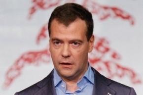 Медведеву не понравилось, как его приняли в «Единую Россию»
