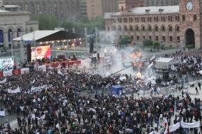 Россияне не пострадали от взрыва газовых шаров в Ереване