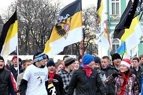 Националисты устроили пробежку по Петербургу