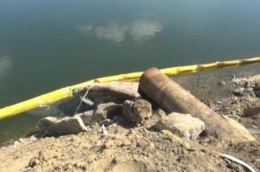 В Иркутской области поймали виновных в разливе нефти в Ангаре