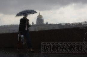 Выходные петербуржцам омрачит небольшой дождь
