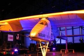 Самолет на солнечной батарее вылетел из Швейцарии в Марокко