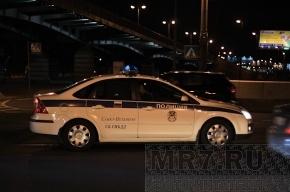 Полицейский «Форд» сбил женщину на тротуаре в Петербурге