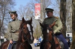 В Стрельне следить за порядком будет конный патруль