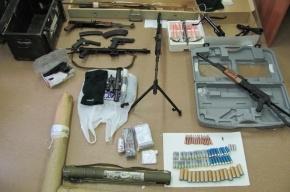 В патриотическом клубе Петербурга нашли оружие