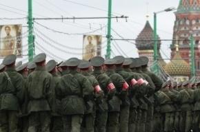 Генеральная репетиция парада в Москве перекрыла центр для автомобилистов