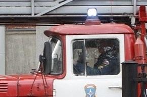 В Петербурге загорелся ресторан