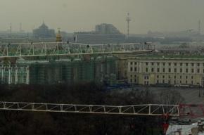 В Петербурге дымится жилой комплекс «Монблан»