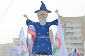 Член ЦИК отказался получать награду из рук Владимира Чурова