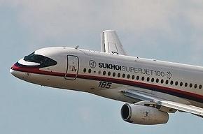 Российский самолет Суперджет пропал с радаров