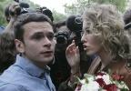 Фоторепортаж: «Собчак и Яшин: роман»