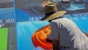 3D рисунки на асфальте: Фоторепортаж