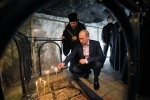 Фоторепортаж: «Владимир Путин в храме Гроба Господня»