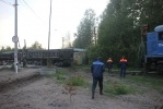 Фоторепортаж: «Сошли с рельсов вагоны, 7 июня 2012»