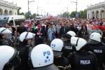 Фоторепортаж: «российские и польские болельщики подрались на Евро 2012»
