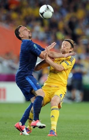 Украина - Франция на Евро 2012. 15 июня: Фото