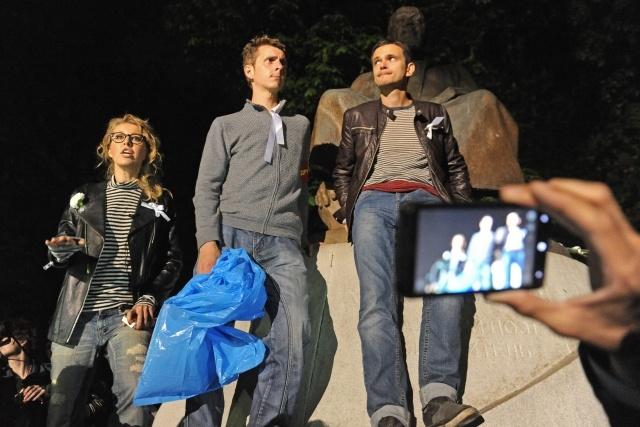 Собчак и Яшин: роман: Фото