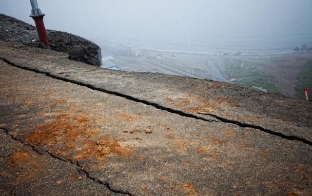 Обрушение трассы в Приморье (фото ИТАР-ТАСС): Фото