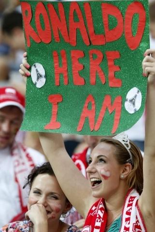 Португалия - Чехия на Евро 2012: Фото
