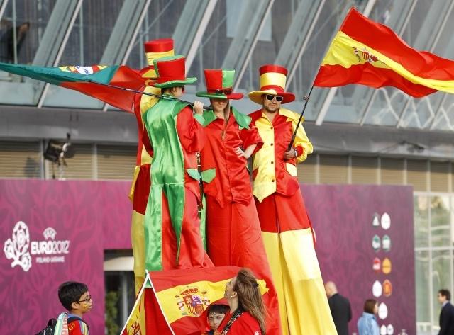 Португалия - Испания: полуфинал Евро 2012 (фото): Фото