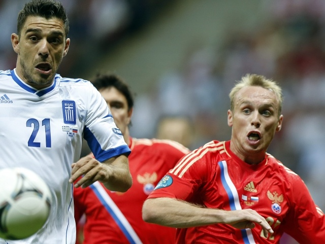Россия - Греция, 16 июня 2012 (3): Фото