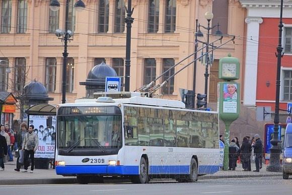 Троллейбус Петербурга: Фото