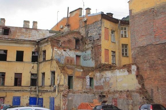 Разрушающиеся, аварийные дома, снос: Фото