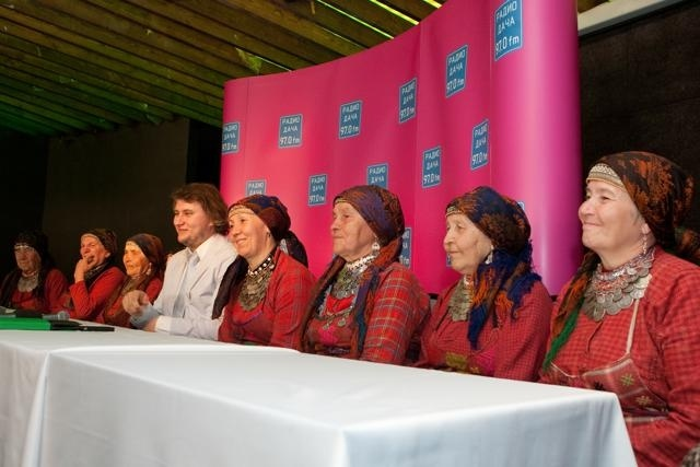 Бурановские бабушки в Питере (фото): Фото