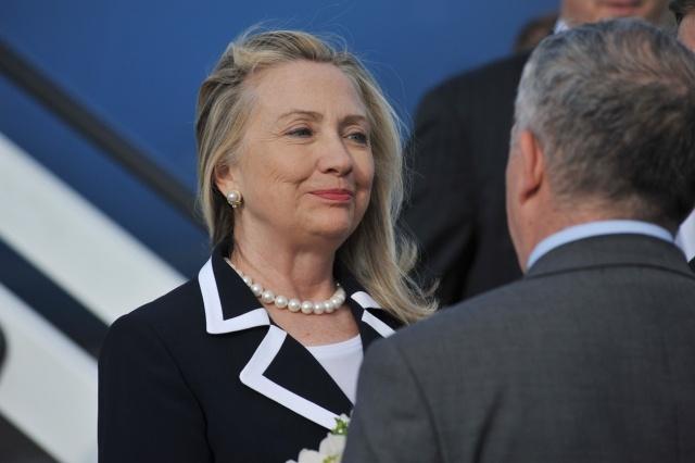 Хиллари Клинтон в Петербурге: Фото