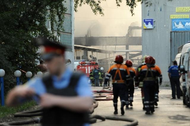 пожар в москве: Фото