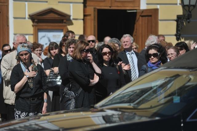 Прощание с Никитой Долгушиным: Фото