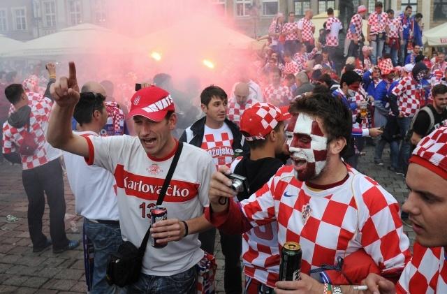 Евро 2012: Италия - Хорватия (1:1): Фото
