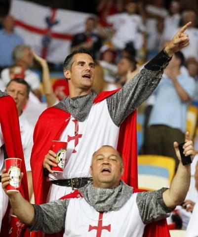 Англия - Италия на Евро 2012: Фото