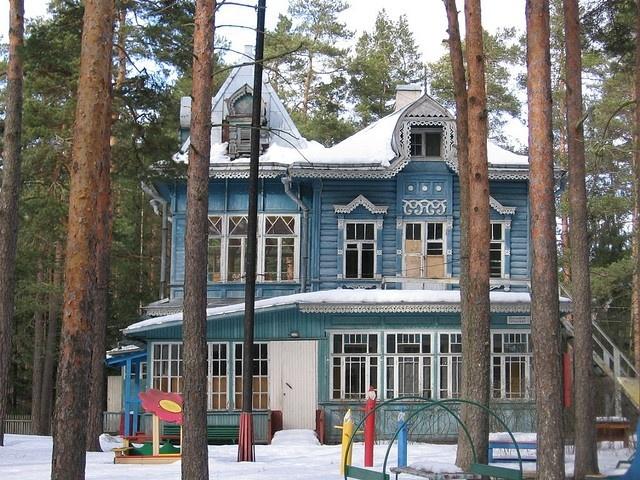 Дачи Комарово: Фото