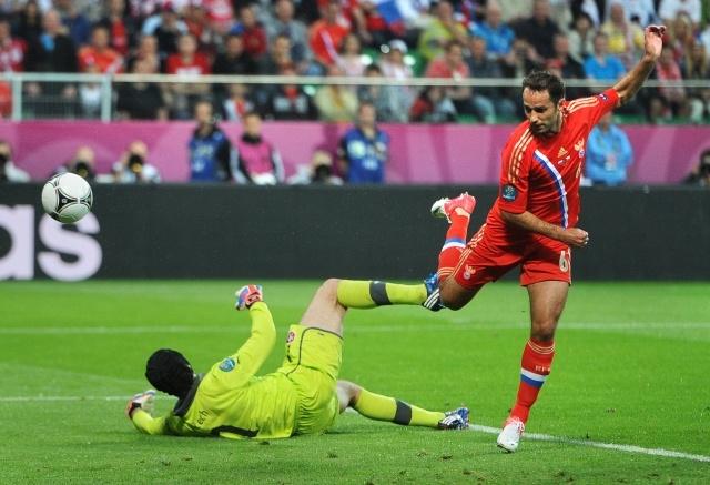 Россия Чехия Евро 2012: Фото
