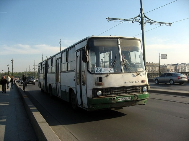 Автобусы Петербурга: Фото