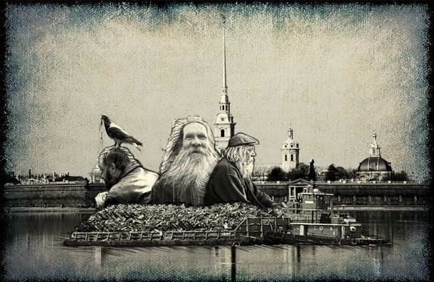 Чиновники прогонят из Петербурга бомжей?