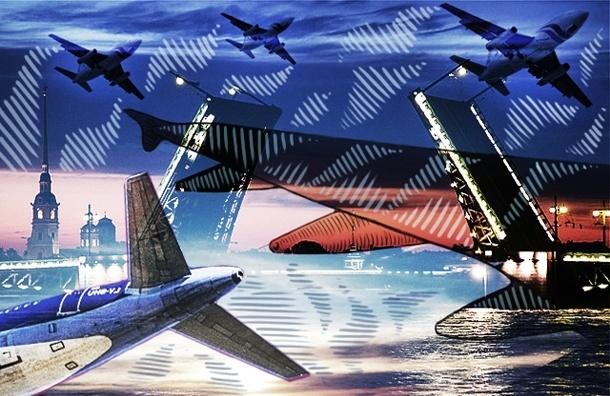 Жителей Стрельны и Ульянки пугают низколетящие самолеты