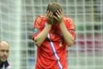 Сборная России по футболу вернулась домой после Евро 2012