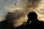 Кадры: как горел склад в Москве