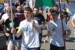"""Полицейским не понравились футболки участников """"Русской пробежки"""""""