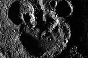 На Меркурии обнаружили силуэт Микки Мауса