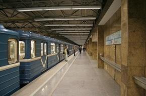 Синяя ветка метро Петербурга встала в утренний час пик