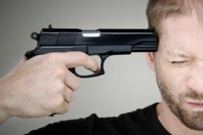 Житель Ленобласти выстрелил себе в висок и остался жив