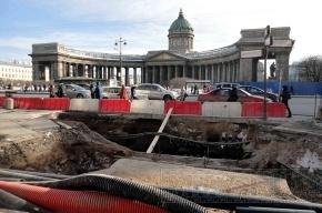 Ремонт всех дорог Петербурга завершат к 2015 году