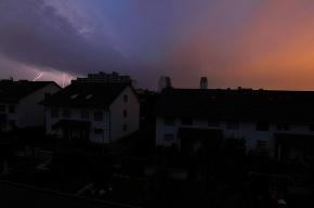 Ленобласть сидит без света из-за шторма
