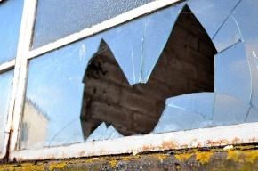 Пьяный петербуржец умудрился сломать себе ногу, круша стекла в детском санатории