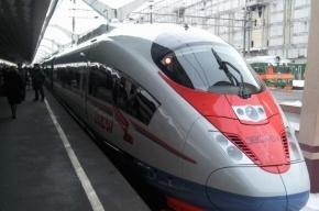 С «Сапсана» на Московском вокзале сняли «зацеперов»